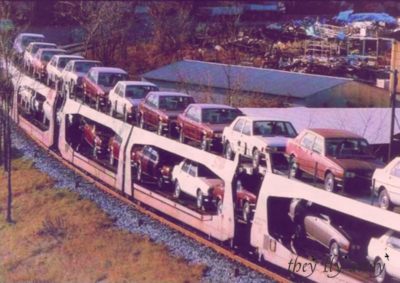 Vagoni carichi di nuove Giulietta