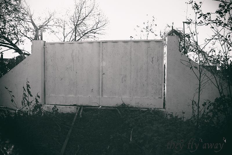 Cancello Binari ferrovia Alfa Romeo