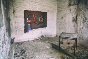 villaggio minatori abbandonato