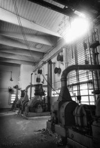 La Sala Valvole Grande Officina del Gas Esplorazione Urbana